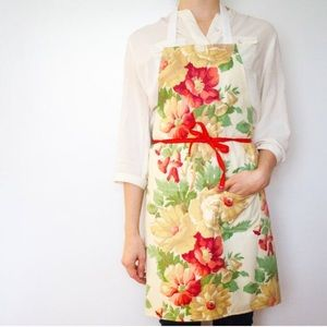 Other - Floral handmade chef's apron